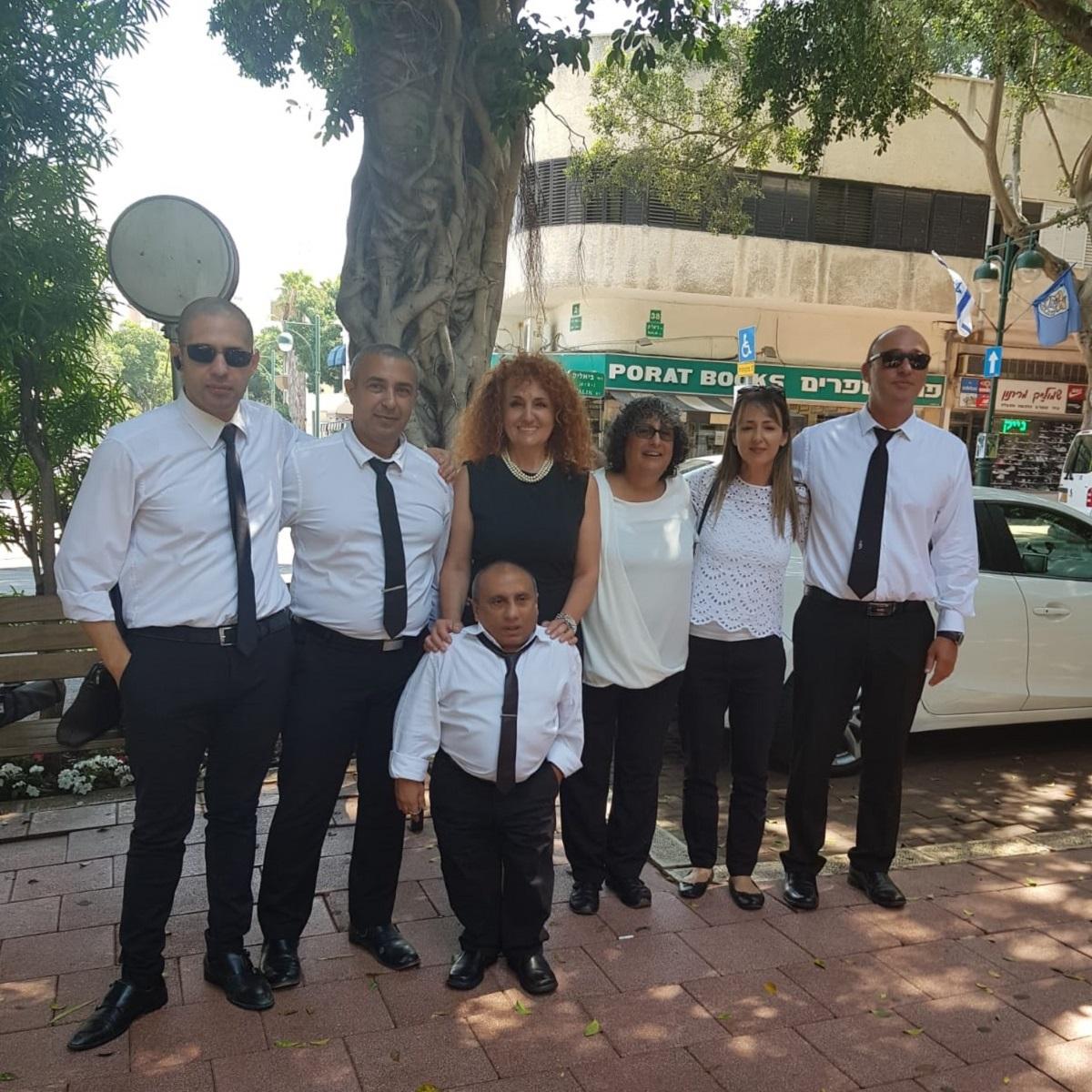 הצוות המקצועי של מרכז הזכויות
